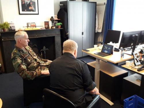 11 maart 2021 digitaal in gesprek met de CSEL, Command Senior Enlisted Leader jpeg