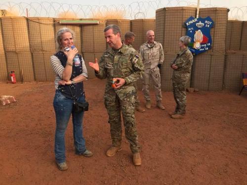 15 maart 2019 bezoek Mali
