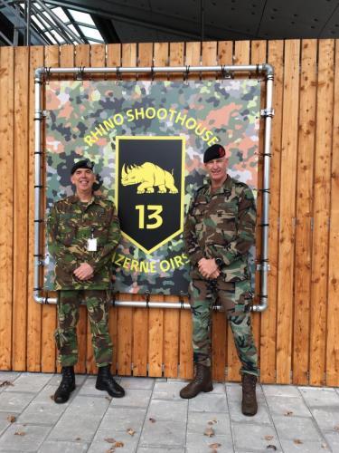 19 nov 2020 Bezoek aan 13 Lichte Brigade