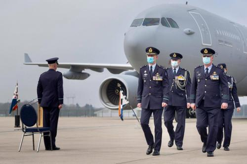 1 maart 2021 oprichting van het Air Mobility Command (AMC)