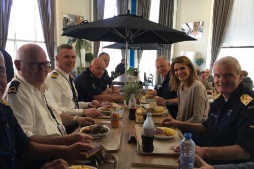 24 april 2018 Den Helder met staatssecretaris