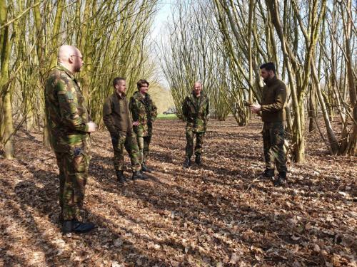 27 maart 2021 weekverslag Jaarlijks Oefen Programma (JOP) Militaire Basis Vaardigheden (MBV) op Vlb Gilze-Rijen