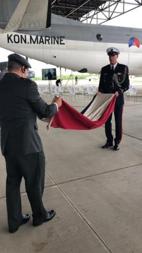 2 juli 2021 vlaggenceremonie op het NMM