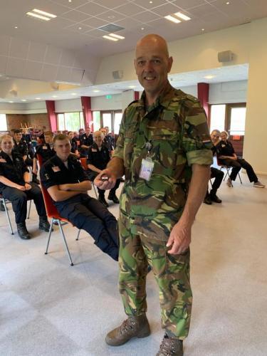 4 juni 2020 bezoek bij de Marine school in den Helder 2