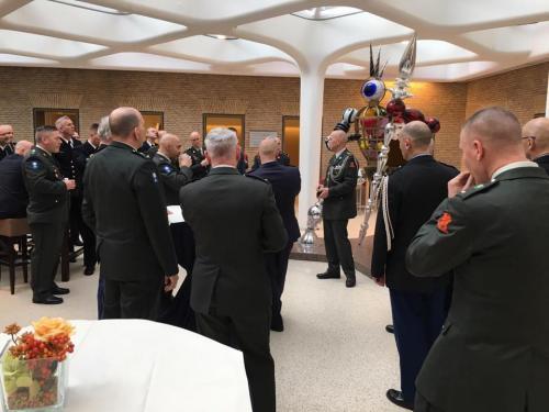 7 februari 2019 bij ministerie van defensie