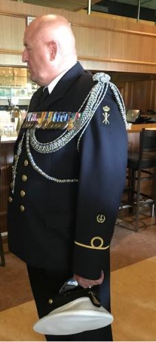 9 mei 2018 overdracht luchtmachtadjudant